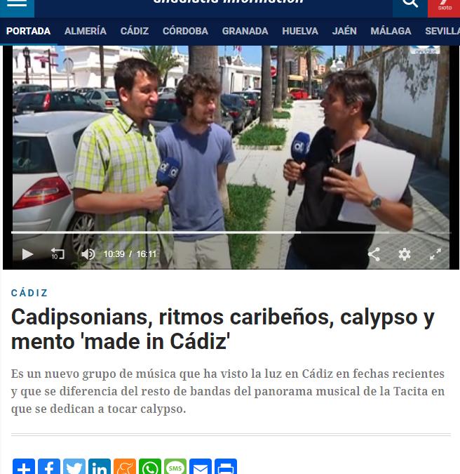 Cadipsonians, ritmos caribeños, calypso y mento 'made in Cádiz'